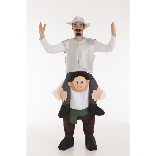 Disfraz A Hombros Don Quijote y Sancho Adulto