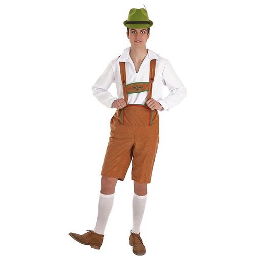 Disfraz Alemán Marrón Adulto