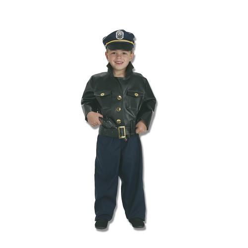 Polícia de fantasia infantil