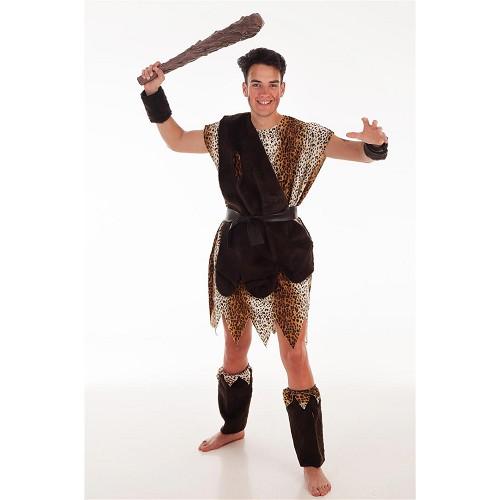 Disfraz Cavernícola Marrón Hombre Adulto