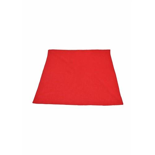Pañuelo Rojo Cuadrado 0.52 CM