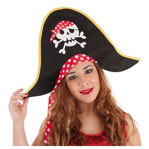 Sombrero Pirata Lunares