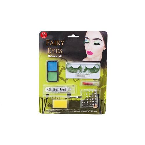 maquiagem Fada Verde em setembro