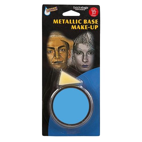 Frasco Maquiagem Azul