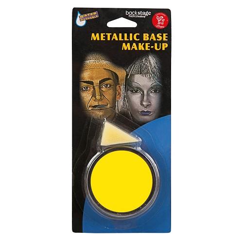 Frasco Maquiagem Amarelo
