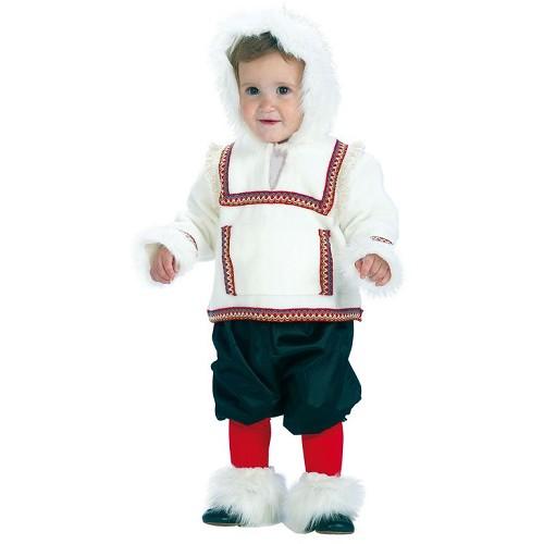 Fantasia de criança de bebê esquimó (0 a 12 meses)