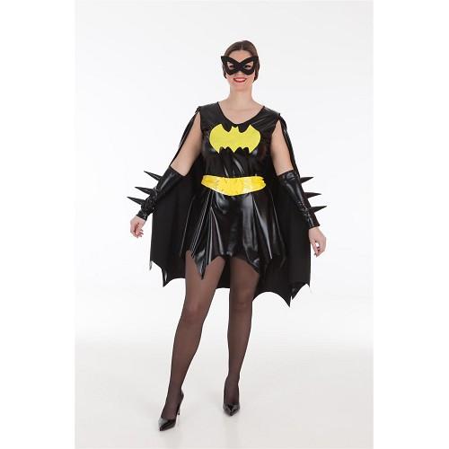 Disfraz Vestido Batgirl Adulto