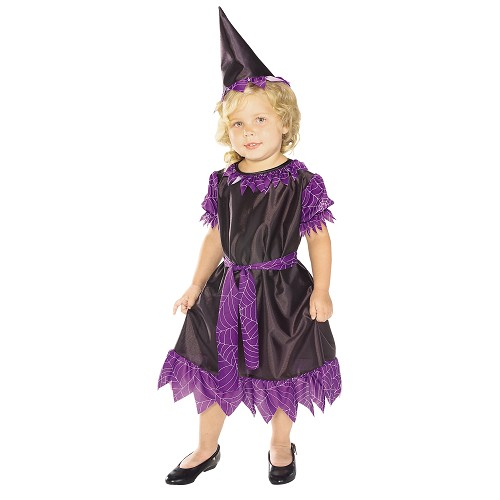 Disfraz Bruja Purpura Niña