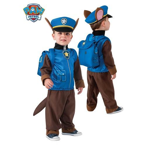 Criança traje perseguição