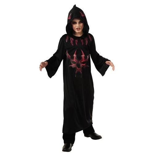 Disfraz Espiritu de La Noche Rojo Infantil