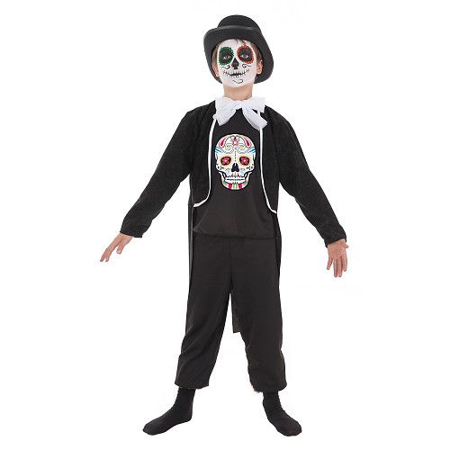 Disfraz de Calavera Mexicana Niño