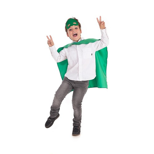 Disfraz Capa Mask Verde