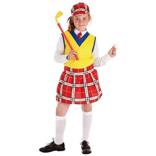 Disfraz Jugadora Golf Infantil