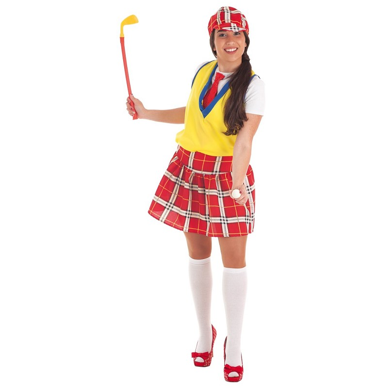 Disfraz Jugadora Golf Adulto