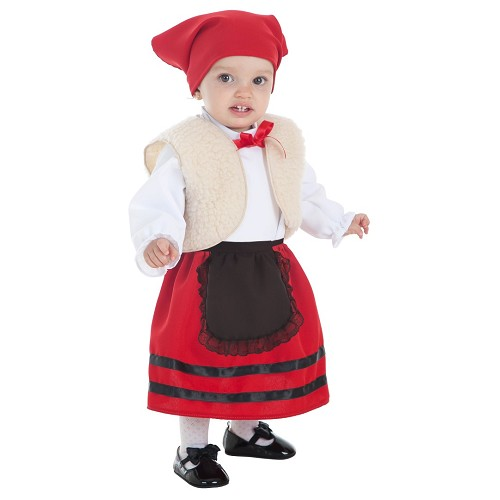 Disfraz Pastora Chaleco Bebe (0 a 12 meses)