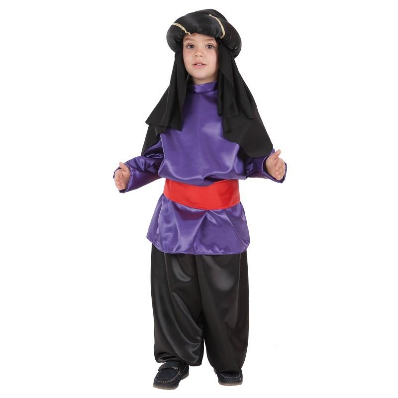 Disfraz 100% fabricado en España Disfraz Paje Lila Infantil 8f32ea8c913
