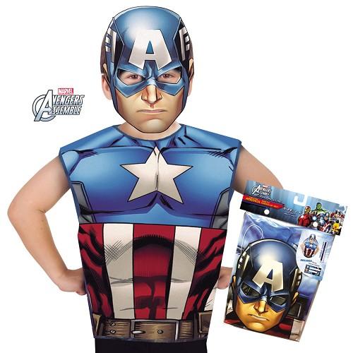 Capitan America Partytime Set Infantil