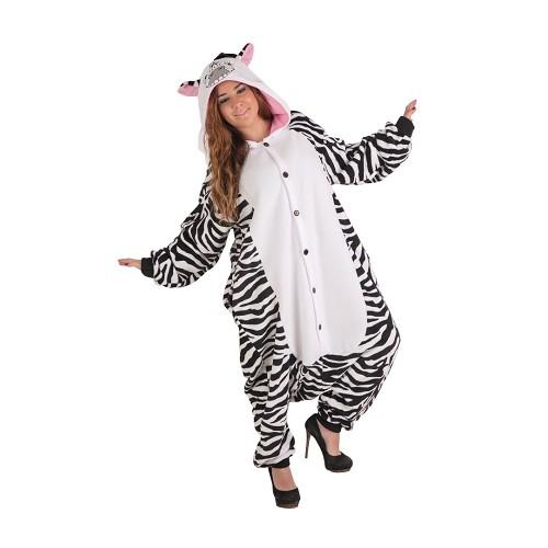 Disfraz Pijama Zebra T-Xl