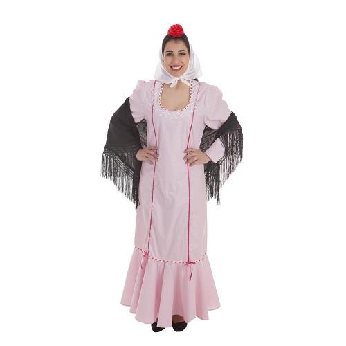 Disfraz Chulapa Rosa Adulto