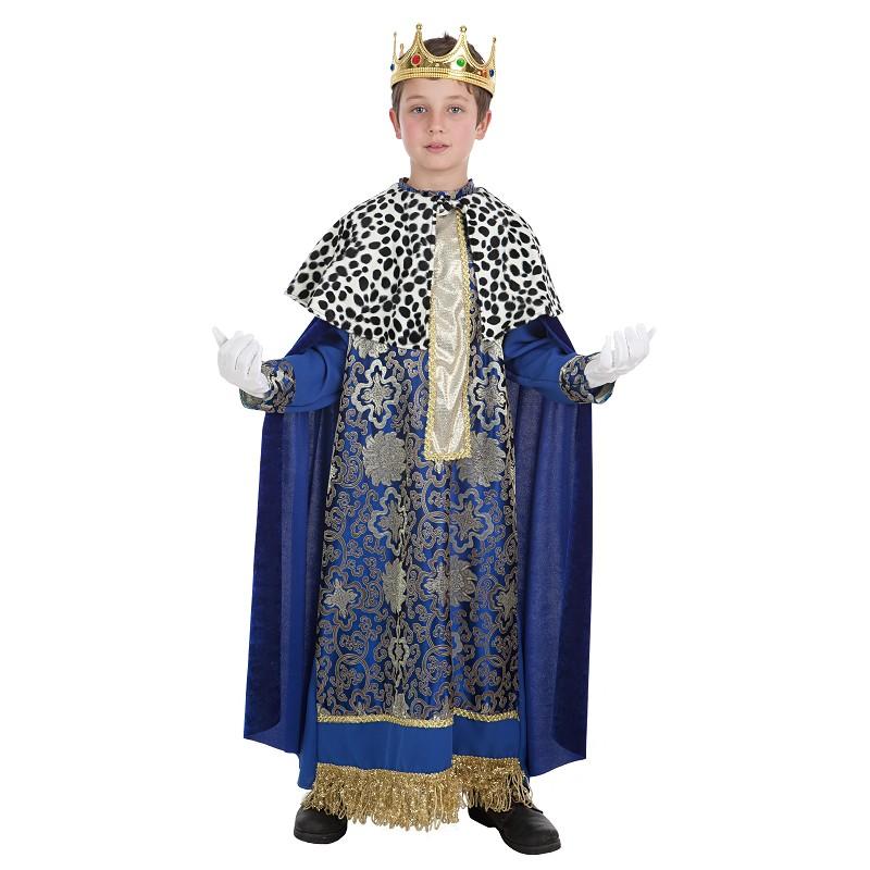 Disfraz 100% fabricado en España Fantasia de criança rei Melchior 8333f5fc850