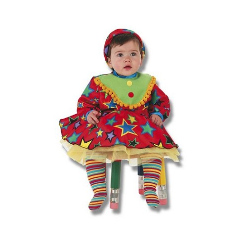 Fantasia de bebê Payasina (0-12 meses)