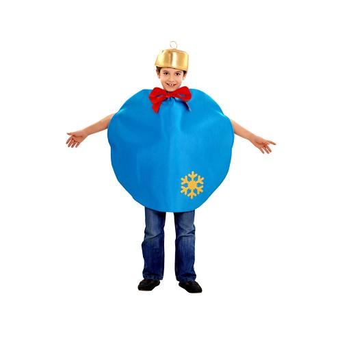 Disfraz Bola Navidad Azul Infantil
