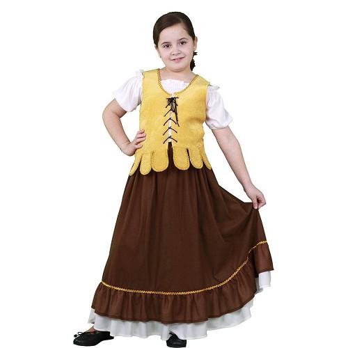 Disfraz Mesonera Amarilla Infantil