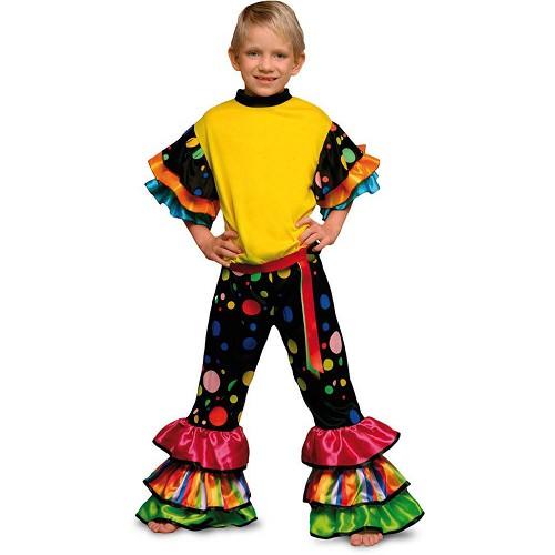 Disfraz Salsa Topos Colores Infantil
