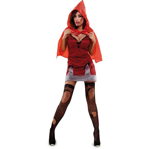 Disfraz Caperucita Roja Zombie Adulto