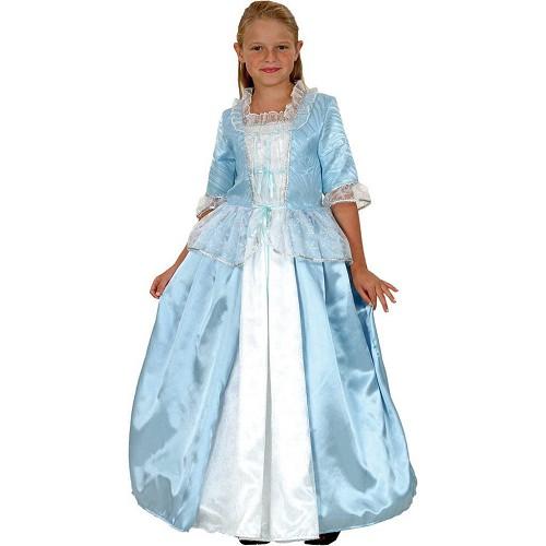 Disfraz Princesa Lujo Azul