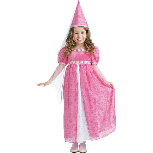 Disfraz Pequeña Princesa Rosa