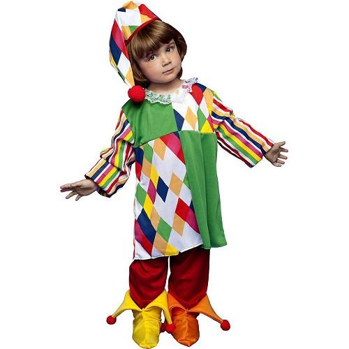 Disfraz Arlequina Color Infantil
