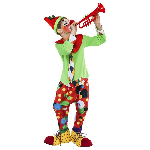 Disfraz Payaso Flautico Infantil