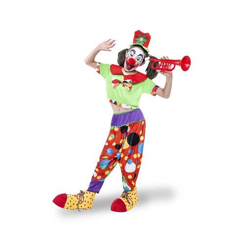 Disfraz Payasa Flautica Infantil