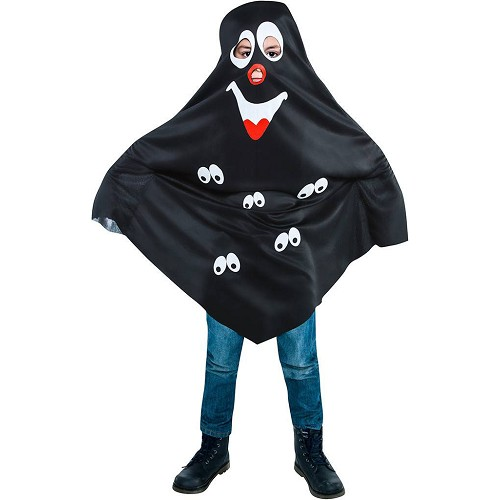 Disfraz Fantasma Negro Infantil
