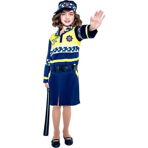 Disfraz Policia Local Niña Infantil