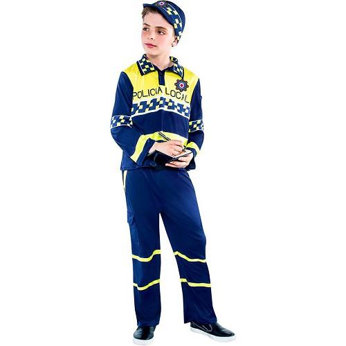 Disfraz Policia Local Niño Infantil