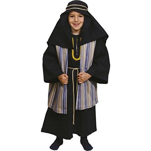 Disfraz Hebreo Negro Y Listado Infantil