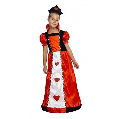 Disfraz Reina As De Corazones Infantil