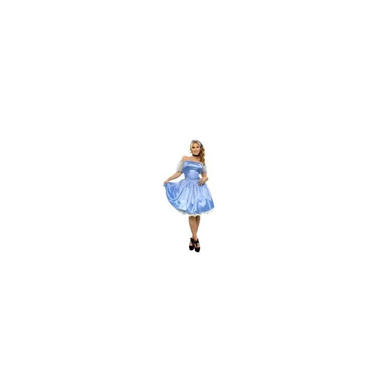 Disfraz Princesa Azul Adulto