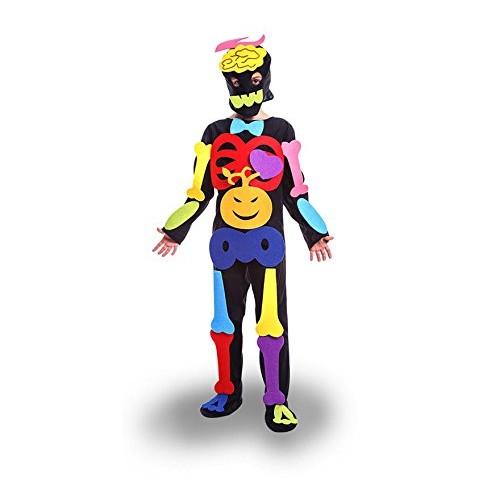 Disfraz Esqueleto Puzzle Infantil