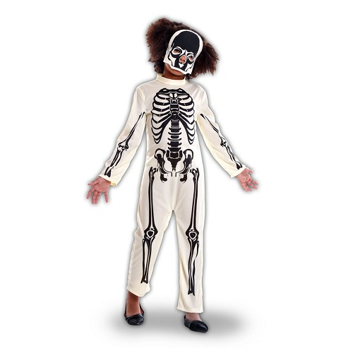 Disfraz Esqueleto Blanco Infantil