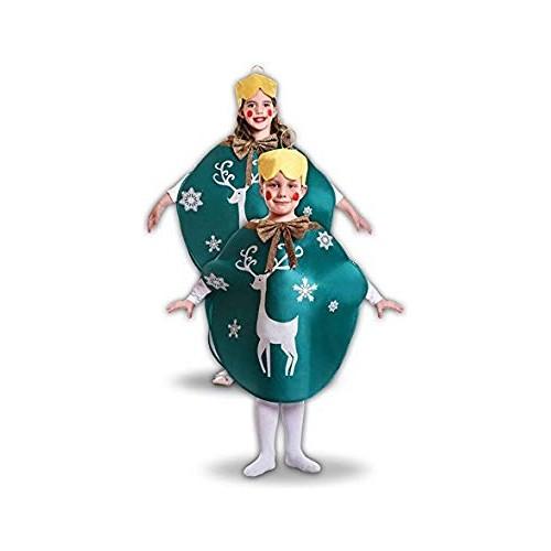 Disfraz Bola De Navidad Verde Infantil