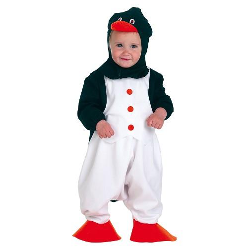 Pinguim de fantasia bebê (0 a 12 meses)