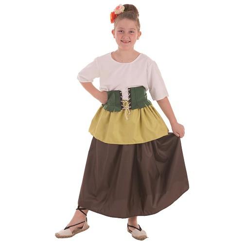 Disfraz Medieval Tendera Infantil