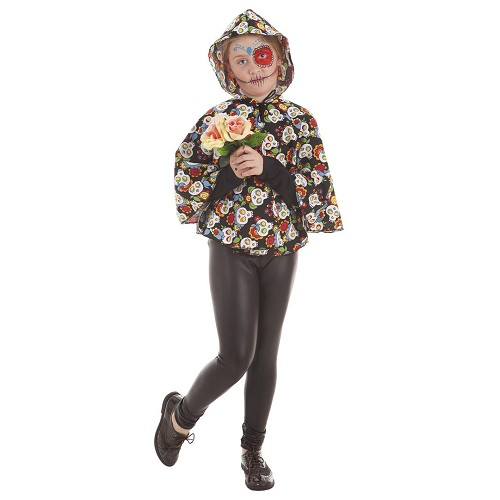 Disfraz Capa Catrina Infantil