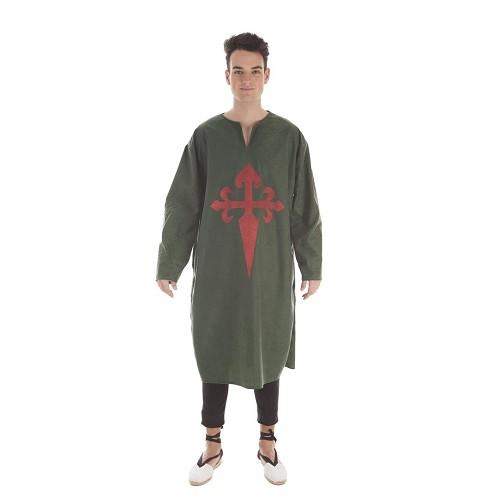 Disfraz Túnica Antelina Verde Adulto