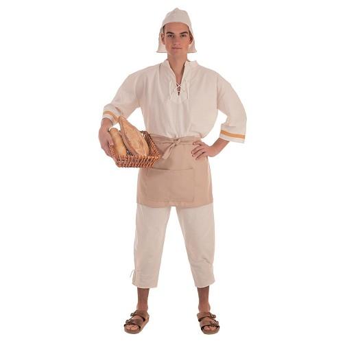 Disfraz Medieval Molinero Adulto