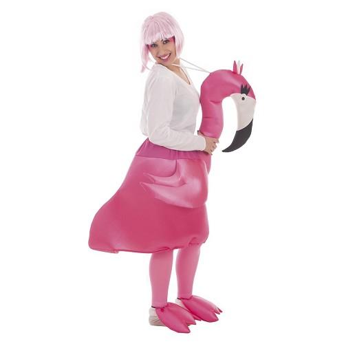 Disfraz Flamingo Adulto T-L