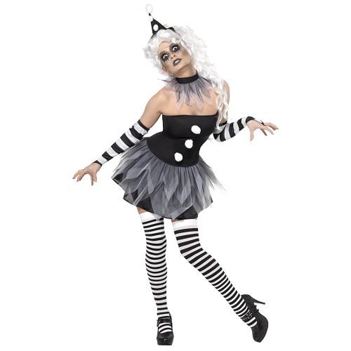 Disfraz Pierrot Siniestro Adulto
